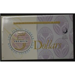 1994 $5 & $10 Premium note pair in folders