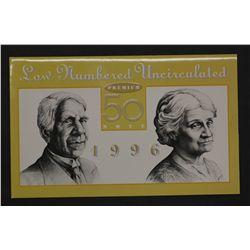 1996 Premium $50 Note in Folder