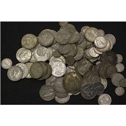 1 kilo of Pre 1945 Australian Silver
