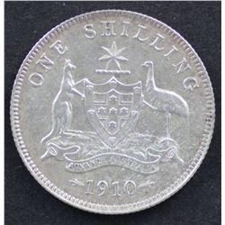1910 Shilling Good Very Fine