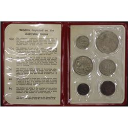 1970 Mint Set, captain cook year nice condition