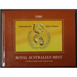 1986 Mint Sets x 5