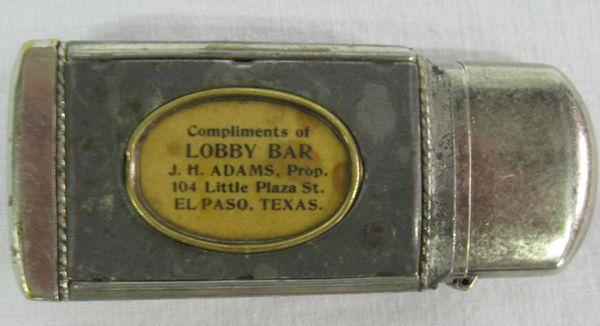 1900s Antique Lighter Case and Winston Lighter