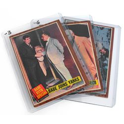 1962 Topps Babe Ruth Special Lot Of 3 Cards #136, 137, 144 EX