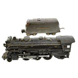 ^Vintage Lionel Pre-War 225E Engine & 225W Tender O Gauge Train Set
