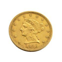1853 $2.5 U.S. Liberty Head Gold Coin