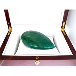 APP: 6.1k 1227.30CT Pear Cut Emerald Green Beryl Gemstone