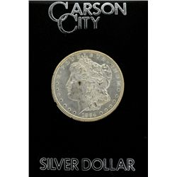 1884 GSA Carson City Uncirculated Silver Dollar With Box Coin