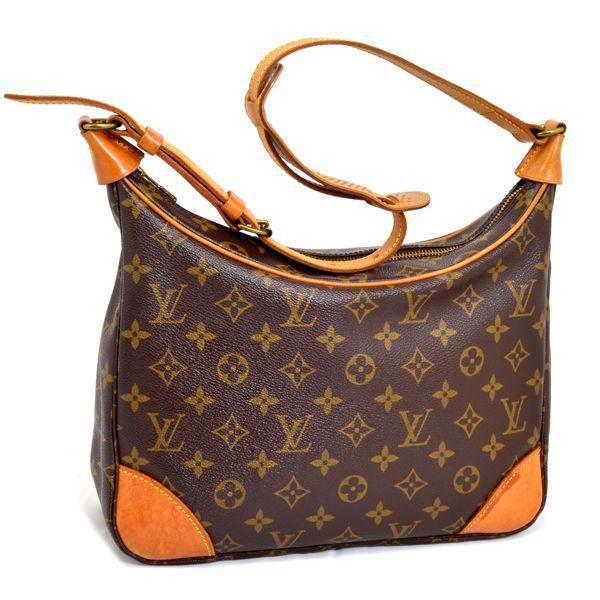 59a395ea8694  Authentic Louis Vuitton Monogram Boulogne 30 Shoulder Bag Purse (Inside  Pocket Peeled Off). Loading zoom