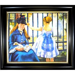 Original Painting on Canvas Museum Framed Mint Condition 30x26.5