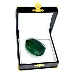 APP: 21.8k 207.75CT Oval Cut Emerald Gemstone