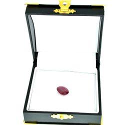 APP: 1.8k 6.92CT Oval Cut Ruby Gemstone
