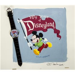 "Original Eric Scales ""Fifty Years of Disneyland"" Painting"