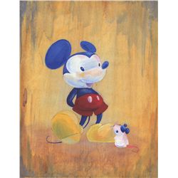 "Mickey Mouse ""Role Model"" Limited Edition Giclée"