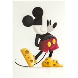 Mickey Mouse  Say Cheese  Limited Edition Giclée by Eric Tan
