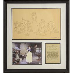 Original 1937 Walt Disney Snow White & the Seven Dwarfs Concept Artwork by Frank Follmer