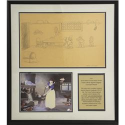 Original 1937 Walt Disney Snow White & the Seven Dwarfs Concept Artwork by Frank Follmer
