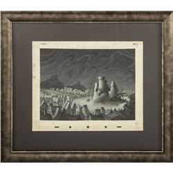 Campbell Grant Watercolor Painting from Fantasia
