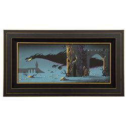 Eyvind Earle concept painting from Sleeping Beauty