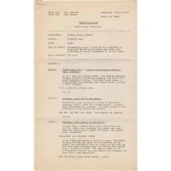 Collection of 1930s Walt Disney Studios Production Documents