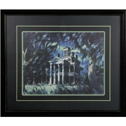 The Haunted Mansion by Sam McKim Framed Lithograph