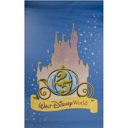 Walt Disney World 25th Anniversary Vinyl Banner