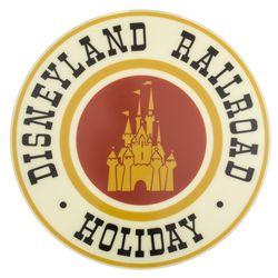 Disneyland Theme Park Railroad Drumhead