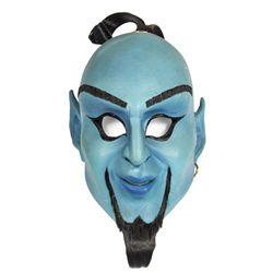Stage-worn Genie Mask from the Aladdin Stage Show at Disneyland