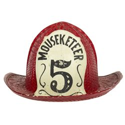 Cubby's #5 Fire Hat from The Mickey Mouse Club