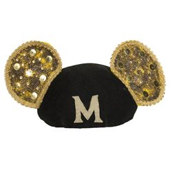 "The Mickey Mouse Club Gold Sequined ""Talent Roundup"" Mouseketeer Ears"