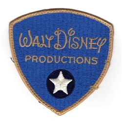 Original Walt Disney Security Guard patch