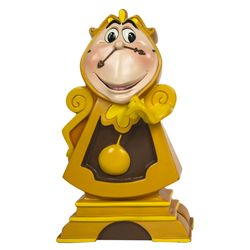 Original Disney Store Beauty & the Beast Cogsworth Maquette