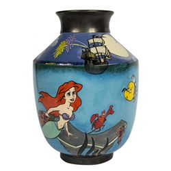 Elisabete Gomes Signed Limited Edition The Little Mermaid Collectors Art Vase