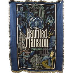 Hard to Find Disneyland Haunted Mansion Afghan Throw Blanket