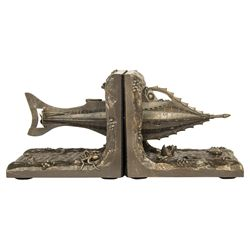 20,000 Leagues Under the Sea Nautilus Bookends