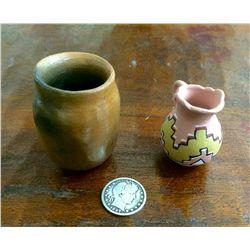 Miniature Navajo pottery lot
