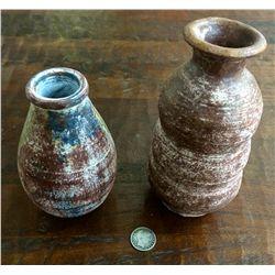 Handmade pottery lot