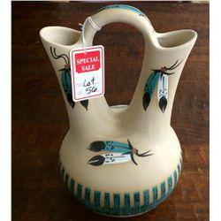 Large Navajo wedding vase
