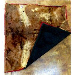 Cowhide blanket