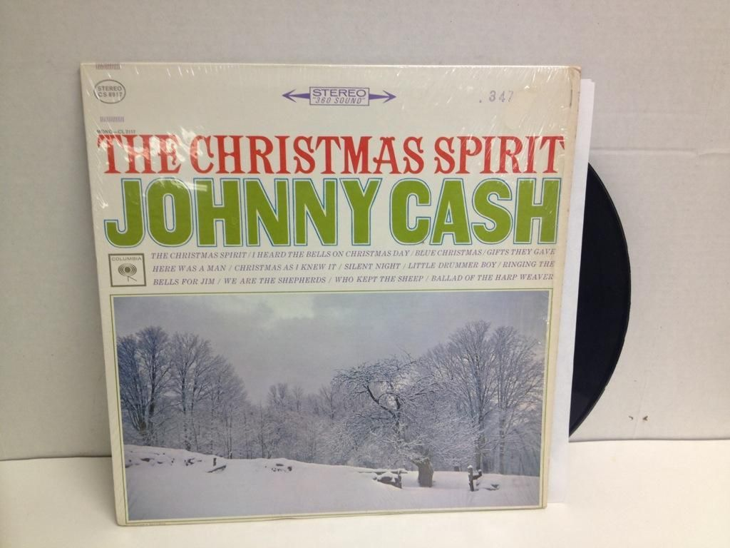 Johnny Cash I Heard The Bells On Christmas Day.8 Johnny Cash Albums