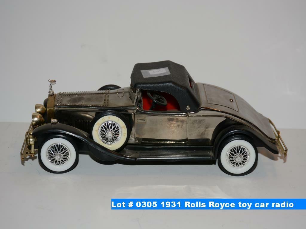 1931 Rolls Royce Toy Car Radio