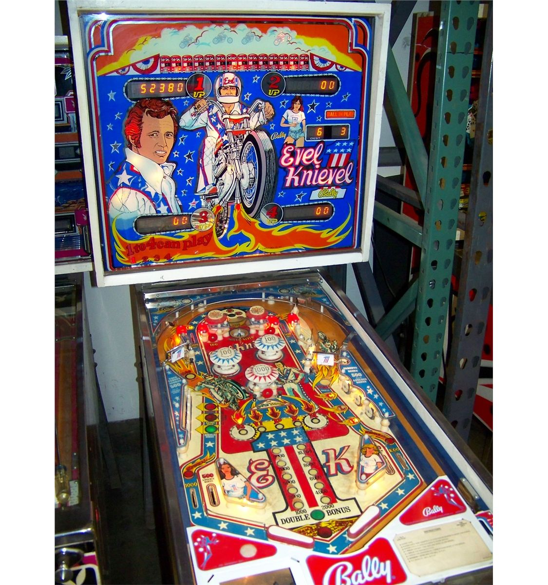 Evel knievel slot machine for sale