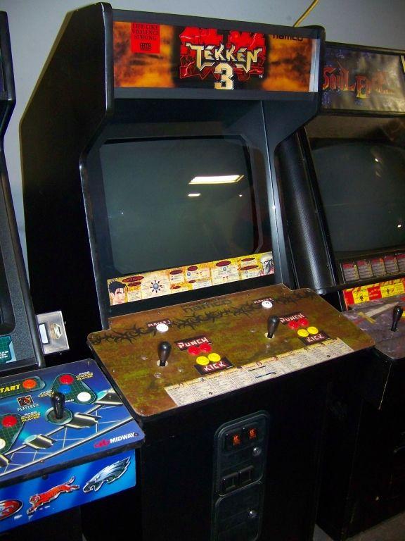 Tekken 3 Namco Arcade Game Fighting