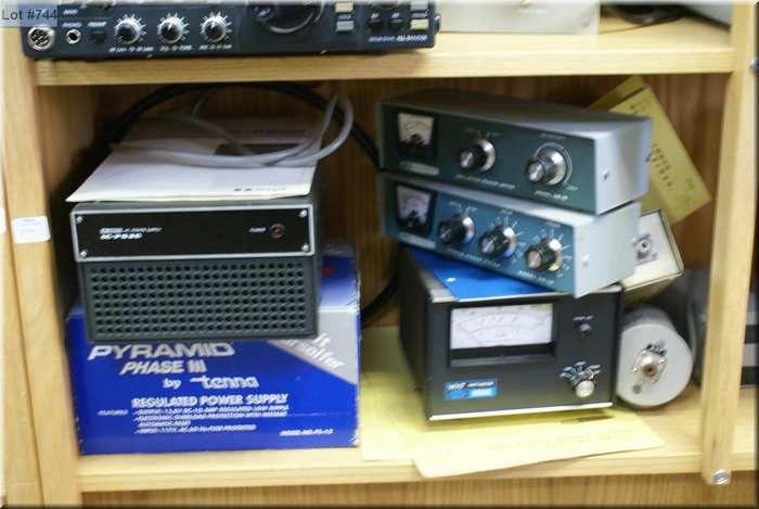 Two Ham radio power supply units including a Hybrid Phone