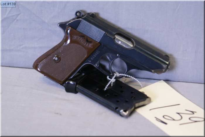 Walther Mod PPK 7 65 MM cal 7 shot semi auto Pistol w/83