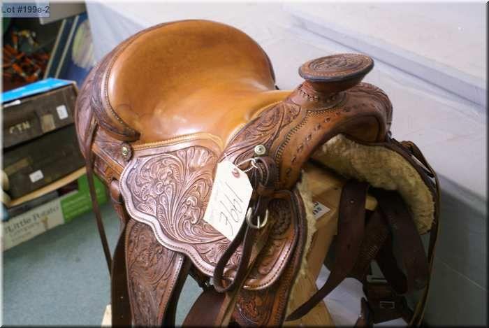 F Eamor Ladies Western Riding Saddle ( F  Eamor Saddle Maker, High