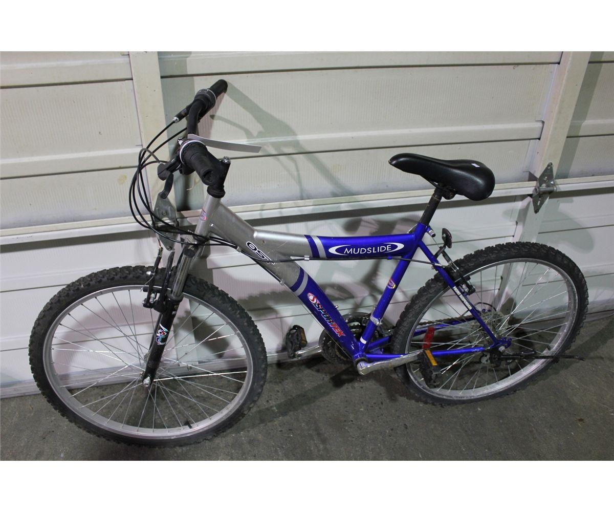 Blue Sportek Mudslide 21sp Mountain Bike ₹ 12,500/ pieceget latest price. blue sportek mudslide 21sp mountain bike