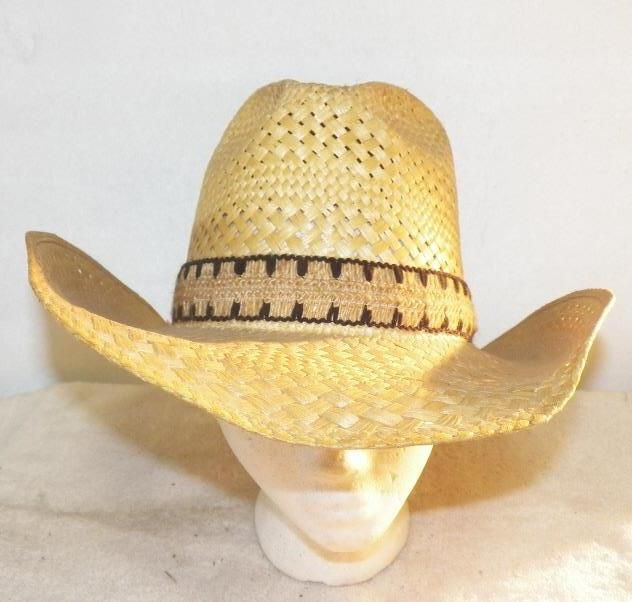 312f0ba196ec3 Image 1   Larry Mahan Straw Hat Vintage Larry Mahan s hat collection