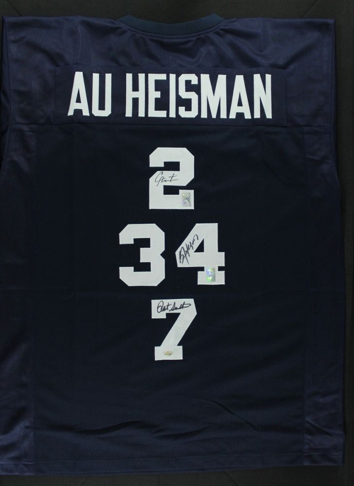 newest collection d62bf e3fb8 Cam Newton, Bo Jackson & Pat Sullivan Signed Auburn ...