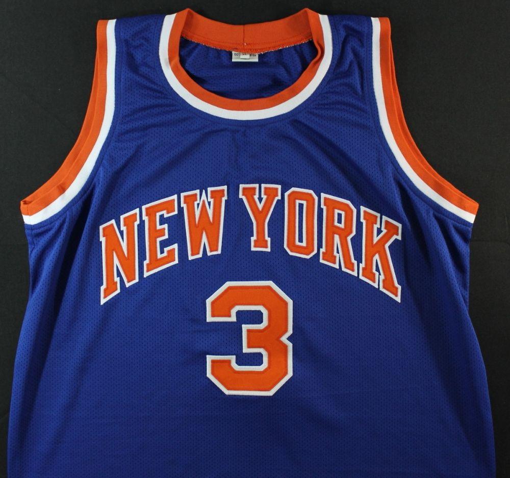 online store b32a3 1620b John Starks Signed Knicks Jersey (JSA COA)